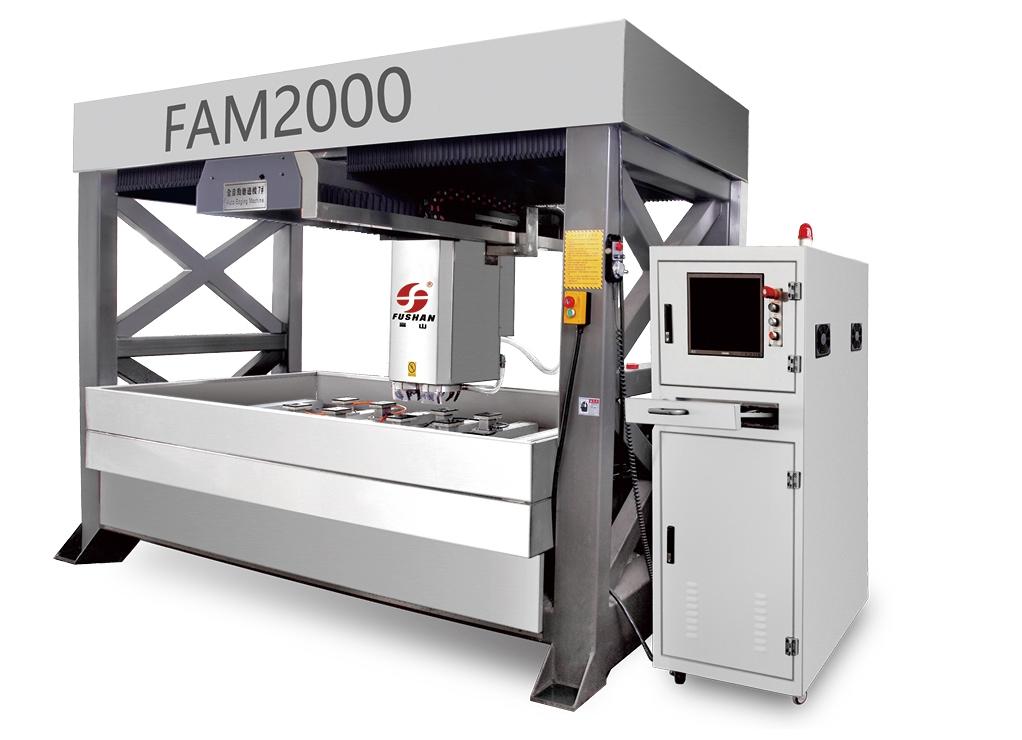 全自動玻璃磨邊機FAM2000
