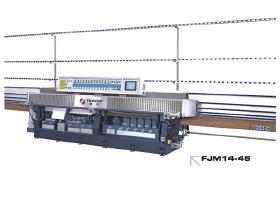 FJM14-45玻璃直線多級磨邊機